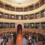 Die Vereinigten Theaterschaffenden der italienischen Schweiz wehren sich gegen die neuen Massnahmen im Tessin. Im Bild das Teatro Sociale in Bellinzona.