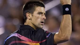 Novak Djokovic setzte sich im Final durch