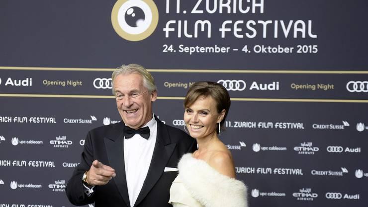 Pepe Lienhard, links, und Ehefrau Christine