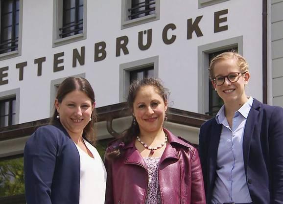 Hotel Kettenbrücke, Aarau: Vera Schäfer (l.) und Stammgast Simone machen am 20. August den Anfang.