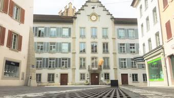 Das Rathaus in Aarau.