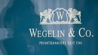 Logo der Bank Wegelin (Symbolbild)