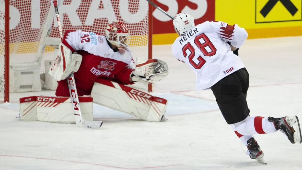 Timo Meier beschäftigt an der Eishockey-WM die gegnerischen Goalies
