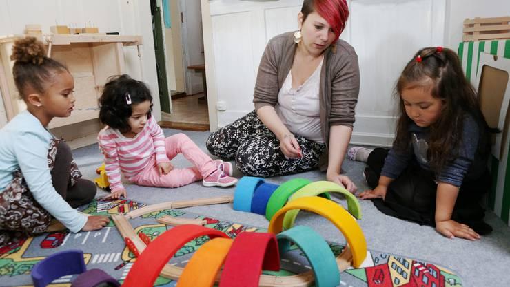 Arbeit in der Spielgruppe ist oft auch Integrationsarbeit - dass weiss auch Leiterin Manuela Achermann.