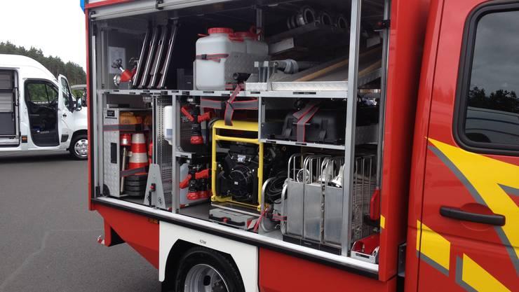 Opel für den Feuerwehreinsatz