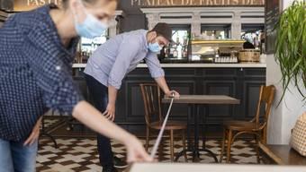 Restaurants dürfen wieder öffnen.
