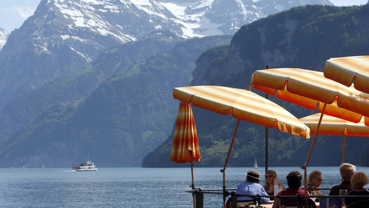 See, Berge und Schnee: Im internationalen Vergleich steht die Schweiz gut da.