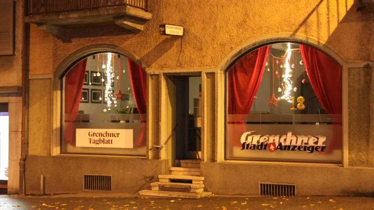 Das Weihnachtsfenster von «Stadtanzeiger» und «GT»