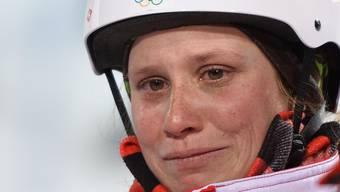 Tanja Schärer bleibt in der Qualifikation hängen.