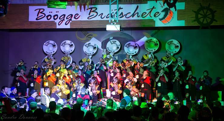 Auch die Böögge Brätscher selbst gaben ihr Können zum Besten. Foto: Sandra Donauer