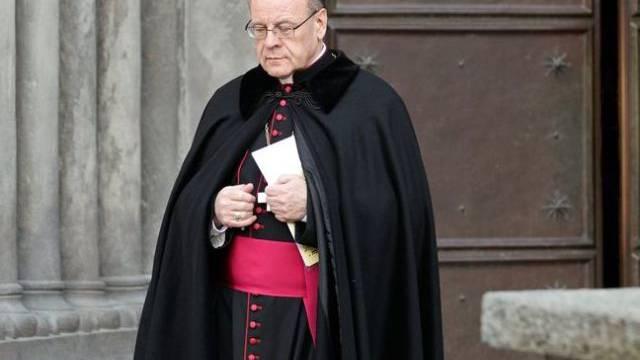 Der Churer Bischof Vitus Huonder (Archiv)
