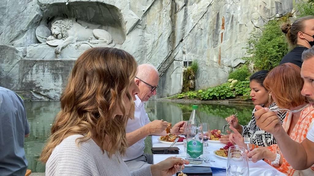 Essen für den guten Zweck – das war «Luzern zu Tisch»