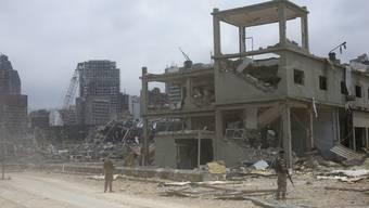 In Beirut liegt der Grossteil der Stadt in Schutt und Asche.