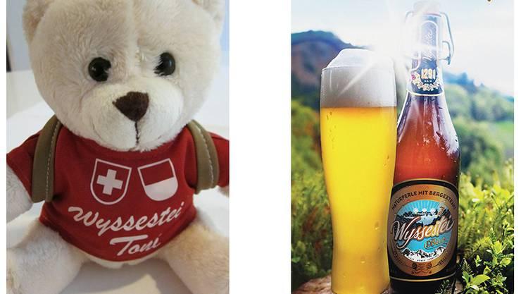 Wyssestei Toni und das Wyssestei Bier