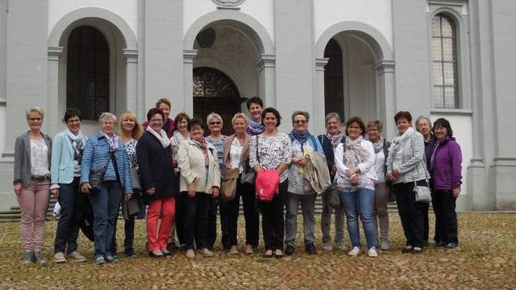Eindrücklicher und fröhlicher Abend für die mitgereisten Frauen der Frauengemeinschaft Neuendorf.