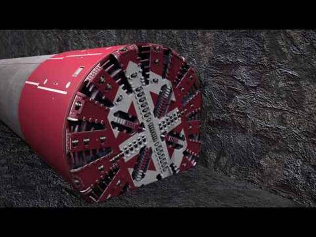 Bahntunnel Eppenberg – Von der Installation bis zum Durchschlag