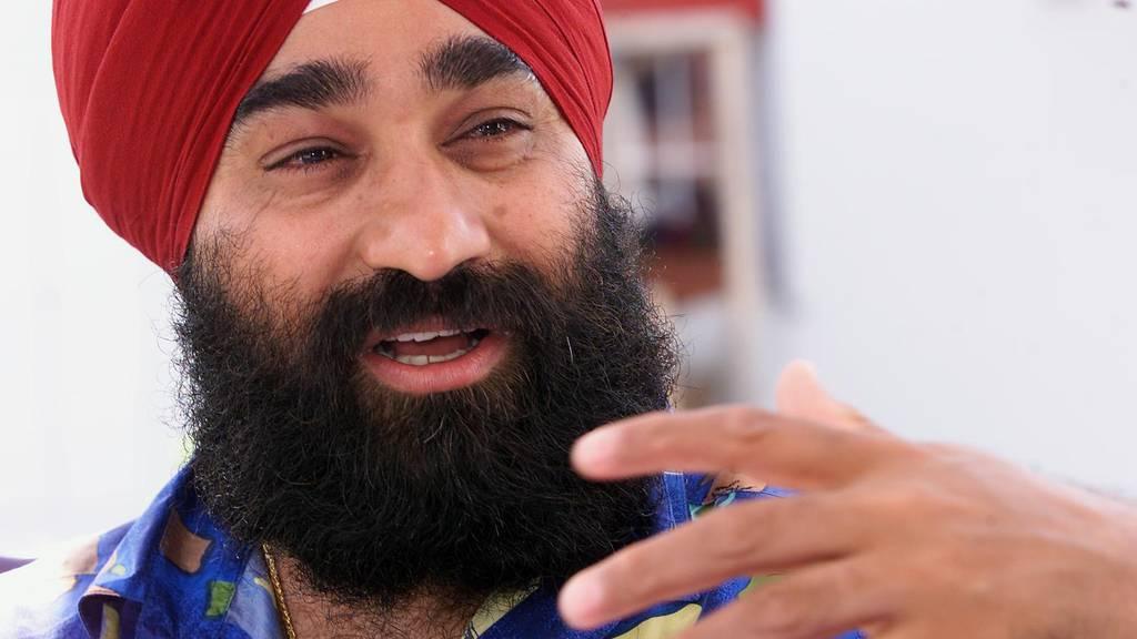 Anoop Singh, auch bekannt als Mostinder, hat der Apfelkönigin die Karte nicht geschickt. (Archiv)