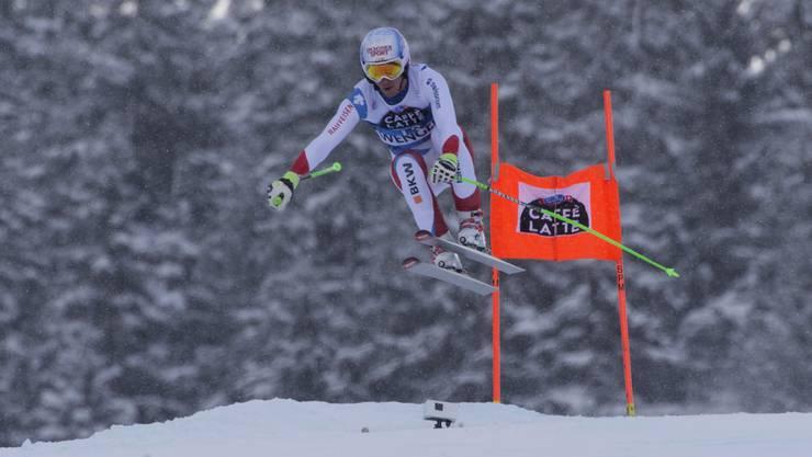 Carlo Janka verzichtet auf die Rennen in Adelboden, um in Wengen fit zu sein, wo er schon achtmal auf dem Podest gestanden ist.