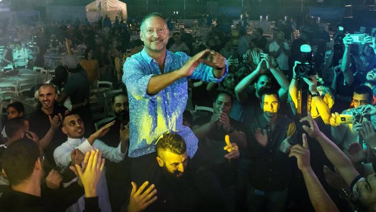 Sodastream-CEO Daniel Birnbaum veranstaltete in seiner Fabrik eine Party anlässlich des Fastenbrechens nach dem Ramadan.