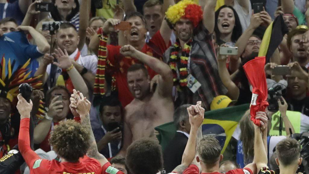 Die Belgier wollen am Dienstag gegen Frankreich erstmals in den WM-Final einziehen