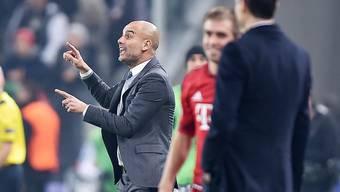 Pep Guardiola will seine Bayern im Spitzenspiel gegen Dortmund zum Sieg dirigieren.