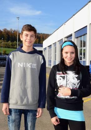 4.Nico Wehrli und Alisha Suter fanden den Nachmittag gut.