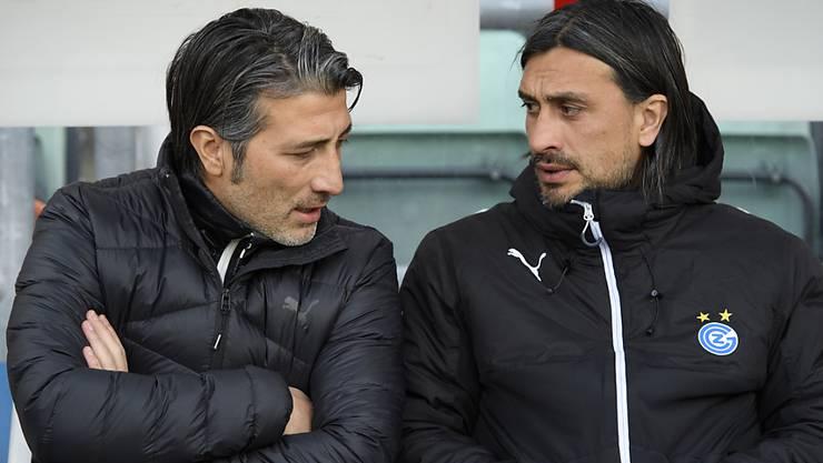 Bei GC assistierte Hakan Yakin noch seinem Bruder Murat. Bei Sion war das Brüder-Modell nicht erwünscht.