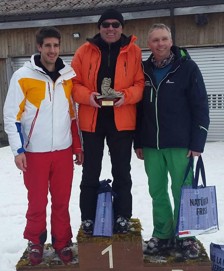 Marc Scherrer, Heinz Lerf und Markus Dietschi
