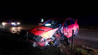 Verkehrsunfall in Brittnau