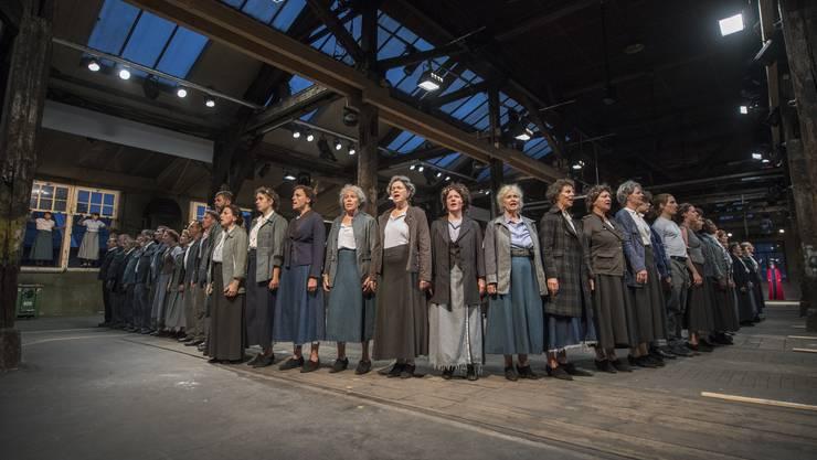 Das Theaterstück 1918.ch zum Thema Landesstreik im Jahr 1918 feiert am 16. August Premiere und dauert bis 25. September 2018.