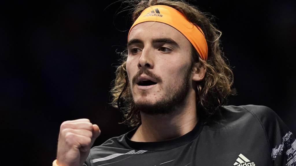 Federer-Bezwinger Tsitsipas gewinnt die ATP Finals