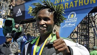 Deutlich schneller als Haile Gebreselassie: Geoffrey Mutai