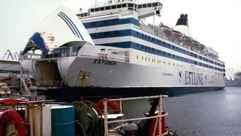 """Die """"Estonia"""" vor dem Unglück, bei dem 852 Menschen ums Leben kamen. Ein französisches  Gericht hat nun Entschädigungsansprüche von Überlebenden und Opferangehörigen zurückgewiesen."""