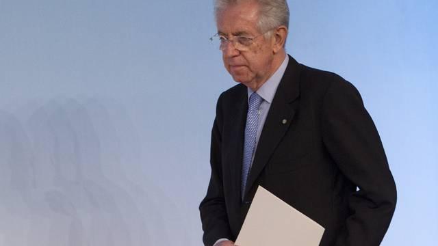 Vermochte das Abgeordnetenhaus zu überzeugen: Der italienische Ministerpräsident Mario Monti (Archiv)