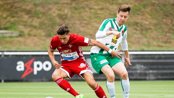 Kevin Spadanuda (l.) und sein Team müssen sich gegen den Konkurrenten aus der Westschweiz durchsetzen.