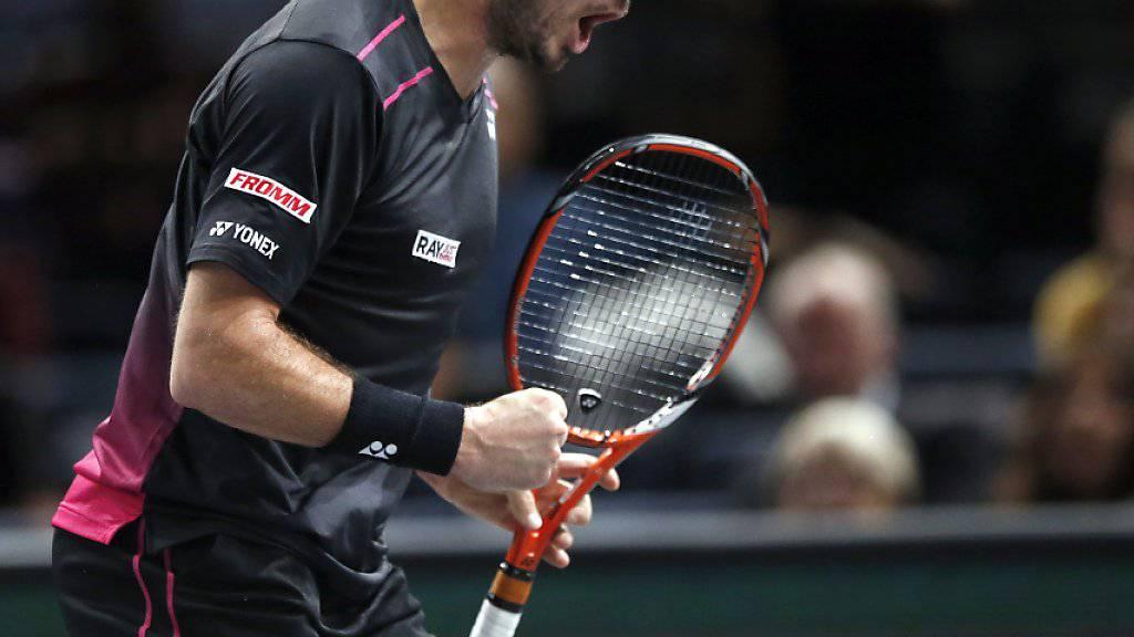 Kämpferisch und voller Selbstvertrauen: Stan Wawrinka hat an den ATP Finals in London viel vor