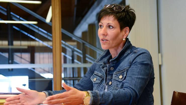 Gemeindepräsidentin Silvia Spycher.