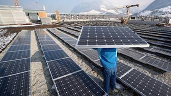 Die Photovoltaik hat in den vergangenen Jahren stark zugelegt. (Archiv)