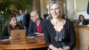 «In anderen Ländern wird das Parlament abgeschirmt, die Wandelhalle im Bundeshaus dagegen steht für einen offenen Austausch», sagt Maya Graf.