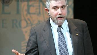 Holte im Jahr 2008 den Nobelpreis: US-Ökonom Paul Krugman verfolgt die Griechenland-Krise aufmerksam (Archiv)