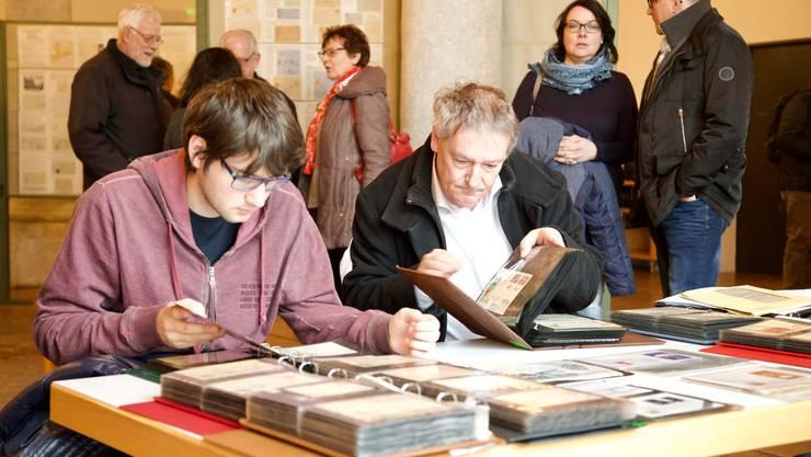 Die Besucher freuten sich über die grosse Auswahl bei den Händler und der Ausstellung