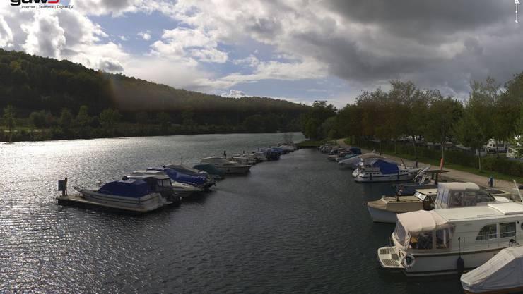 Neue Webcams zeigen, wie das Wetter in der Region Solothurn ist. Hier beim Lido.