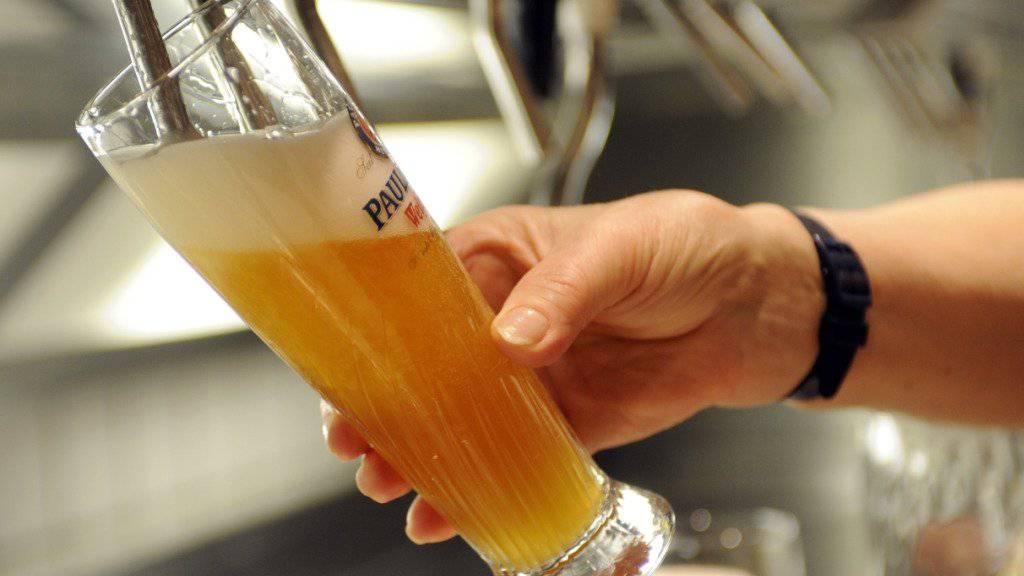Das Reinheitsgebot wird 500-jährig. Das wird auch in der Schweiz gefeiert. (Symbolbild).