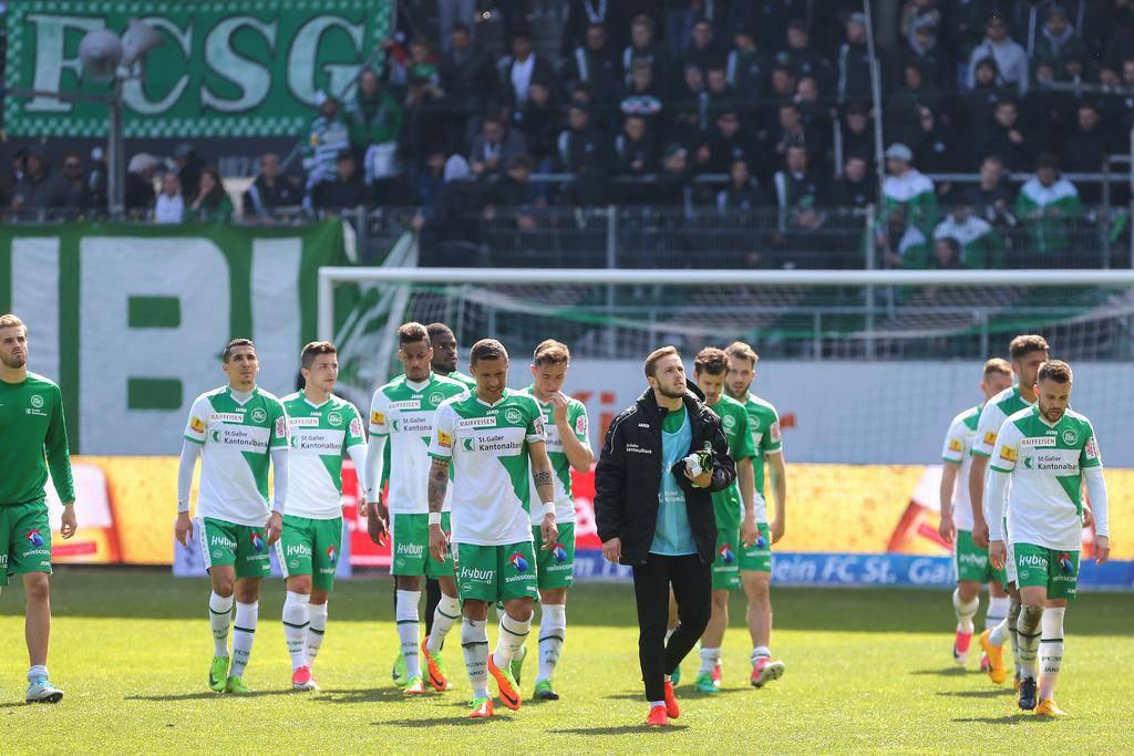 FCSG - FC Thun (© Keystone / Eddy Risch)