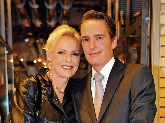 Seit 2008 verheiratet und Arbeitskollegen: Katja Stauber und Florian Inhauser.