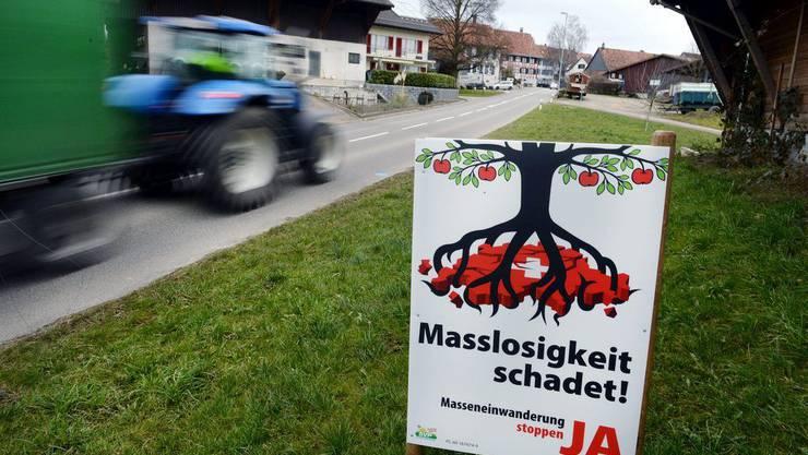 Die Initiative zur Masseneinwanderung sorgt in Bundesbern für Kopfzerbrechen (Archivbild).