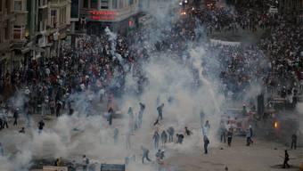 Einsatz auf dem Taksim Square