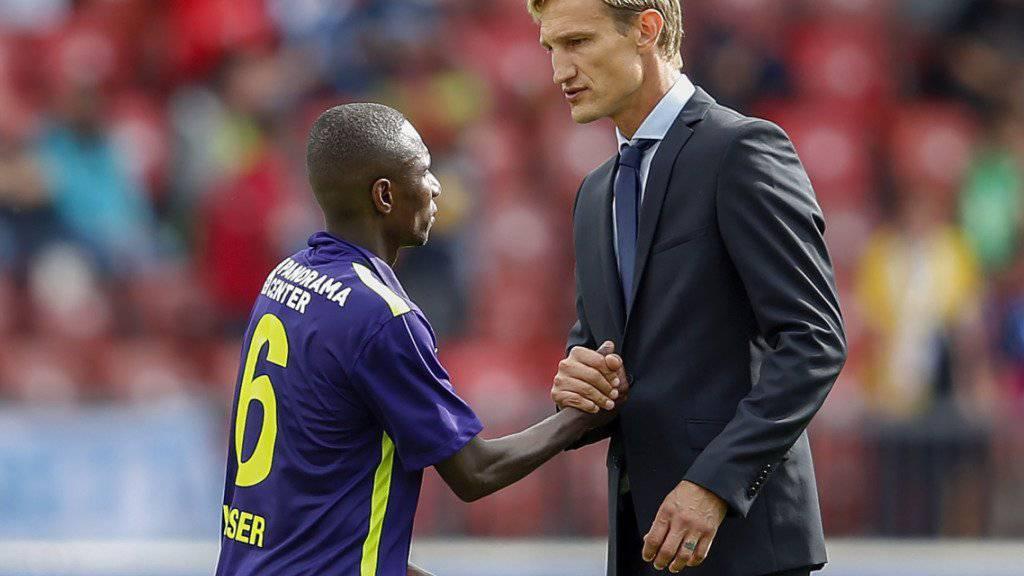 Trainer Sami Hyypiä ernennt Gilles Yapi zu seinem neuen Captain