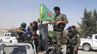 Die kurdischen Volksschutzeinheiten sind in Syrien wichtigster Verbündeter des Westens im Kampf gegen die Terrormiliz «Islamischer Staat» («IS»). Sie beherrschen grosse Teile der Grenze zur Türkei. (Archivbild)