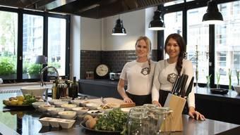 """Lengnauerinnen gründen mit """"Health Me"""" den ersten gesunden Lunch-Lieferdienst in Baden"""